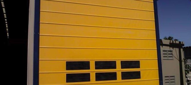 Porta Rápida PVC Automática