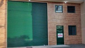 Porta de enrolar Transvision portão de aço porta de aço automática em fortaleza porta de aço automática em londrina kit porta montada