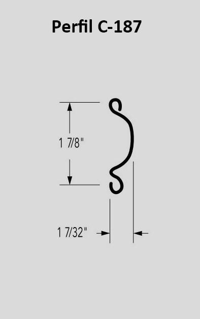 Perfil C-187