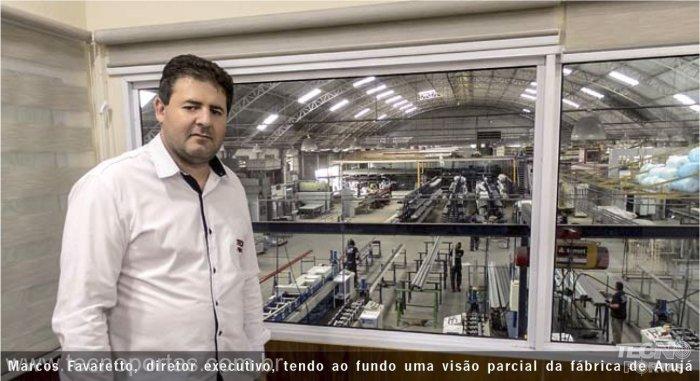 Marcos Favaretto Diretor da Tecnoportas - Portas Automáticas