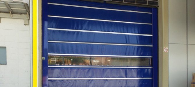Fabricadora de Porta de lona PVC