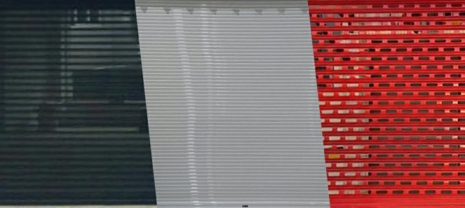 Lâmina Transvision para Cortina Metálica Automática