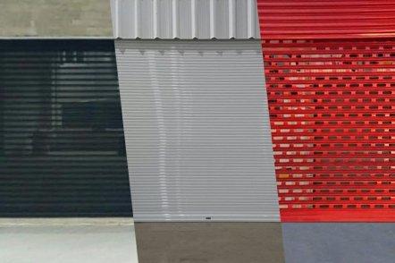 Porta de Enrolar Portas de Rolo Automáticas Porta de Enrolar