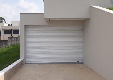 Porta de Enrolar Automatizada Portas de Rolo Automáticas Cortina Metálica de Enrolar