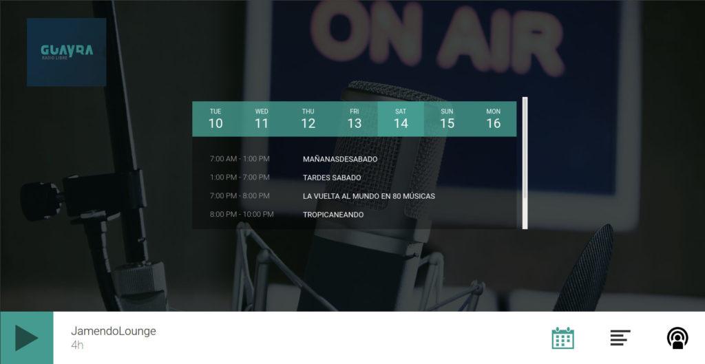 demo insertar radio en sitios web