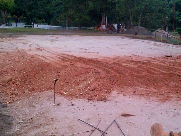 Cancha de Futsal en el Sector de Bejuma Estado Carabobo