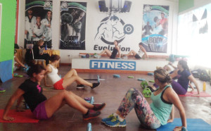 Evolution Fitness Bodypump dictado por Cherly Espinoza de TECNOSPORTS