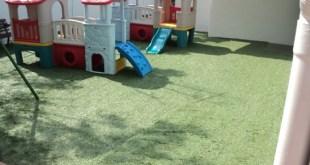 Nuevo Parque Infantil en Caracas con Césped Sintético
