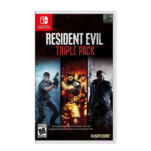 Resident Triple Pack Nintendo Switch