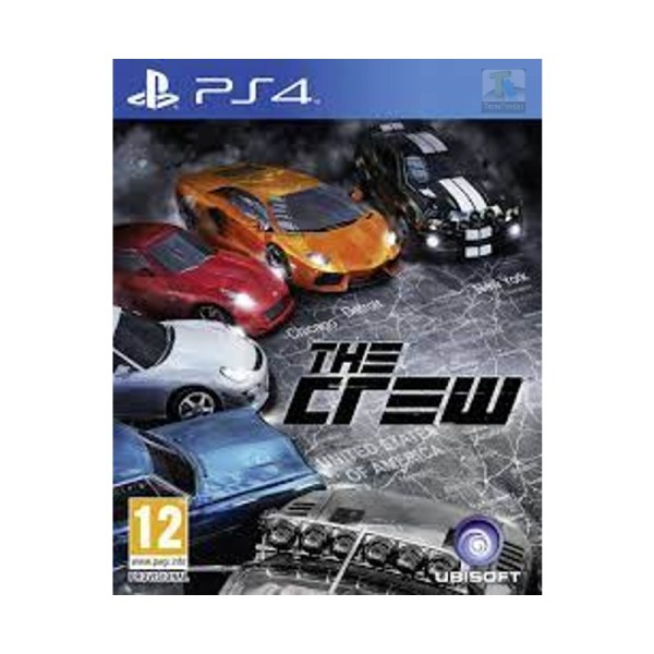 The crew PlayStation 4