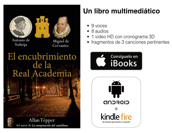 Gánate una Kindle Fire, Amazon honra libro de Allan Tépper y Google Chrome embarra una traducción