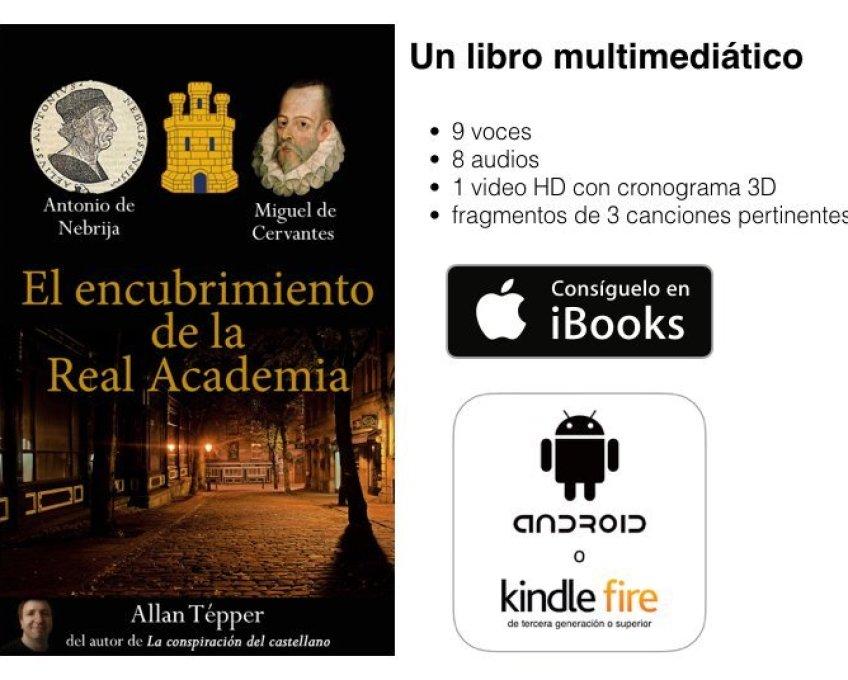 Gánate una Kindle Fire, Amazon honra libro de Allan Tépper y Google Chrome embarra una traducción