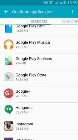 Play store elenco appliazioni android_ts