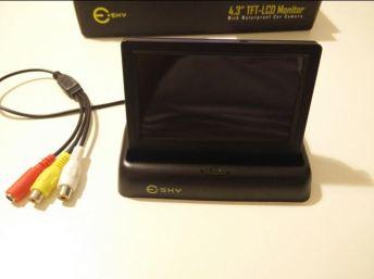 monitor LCD per auto Esky aperto_ts
