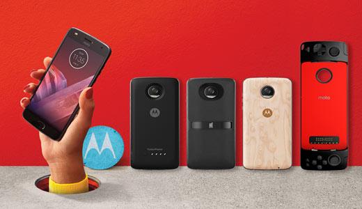 Motorola torna sul mercato italiano con il Moto Z2 Play