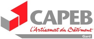 Logo CAPEB Batiment Gard Nimes Photovoltaique