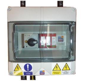 Boitier DC photovoltaique TECNOVAC
