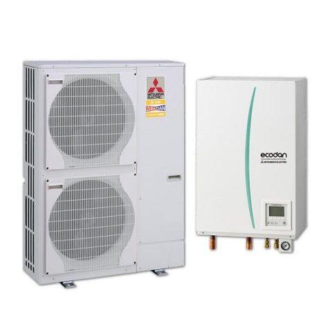 PAC Air Eau ecodan-hydrobox-zubadan-23kW-triphase-mitsubishi