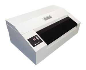 impressora Premier 100 vista levemente da lateral
