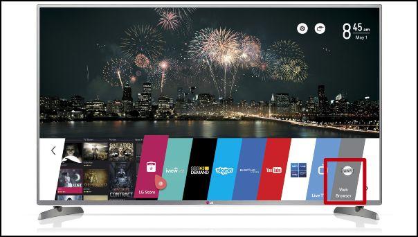 navegador para Smart TV