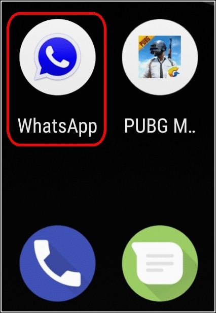 icono GBWhatsApp Android