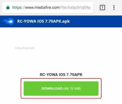 Descargar RC YOWhatsApp v7.70 iOS Edition APK