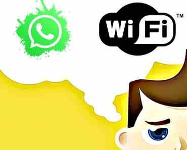 WhatsApp no funciona con WiFi