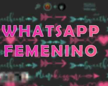 Destacada WhatsApp Femenino