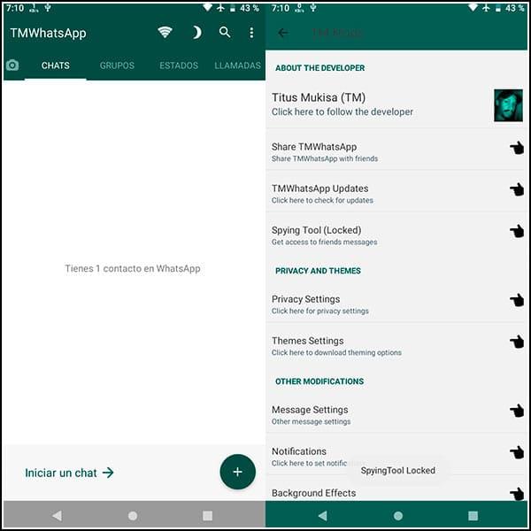 Screenshot TMWhatsApp