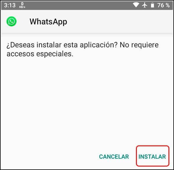 Instalar mod mbwhatsapp