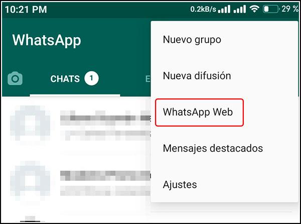 Escanear QR WhatsApp