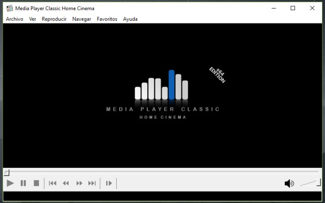 Instalar un reproductor alternativo MPC-HC