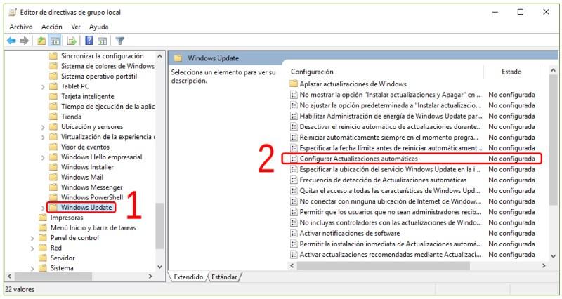 Cómo desactivar las actualizaciones de Windows 10 4