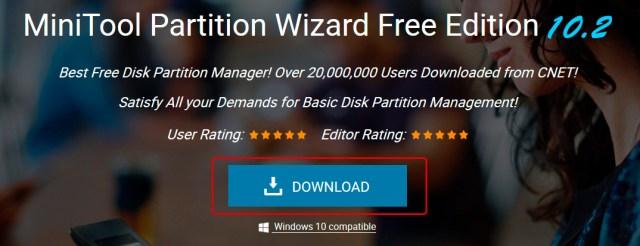 Crear partición con MiniTool Partition Wizard