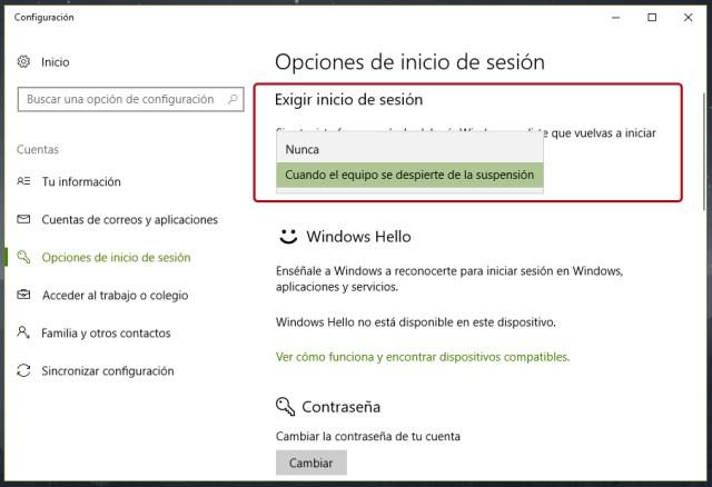 Cómo quitar la pantalla de inicio de Windows 10