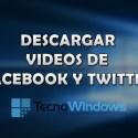 Cómo descargar videos de Facebook y Twitter en Windows 10 2