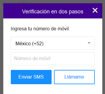Activar verificación en dos pasos en Yahoo Mail
