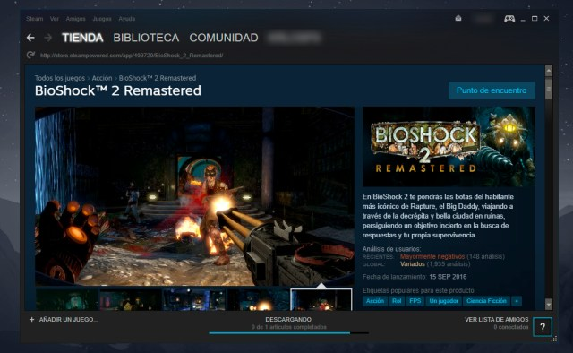 Saga BioShock en Steam
