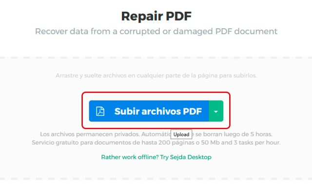 Cómo recuperar un archivo PDF dañado en Windows 10