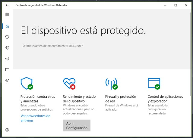 Opiniones sobre Windows Defender en Windows 10, ¿es necesario otro antivirus?