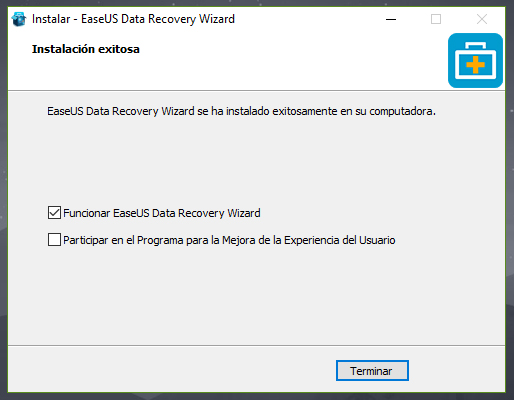 como funciona el easeus data recovery