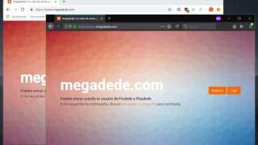 Megadede no funciona 2018: Solución