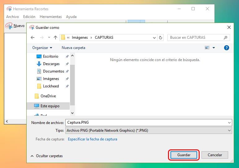 Cómo capturar la pantalla de Windows 10 2