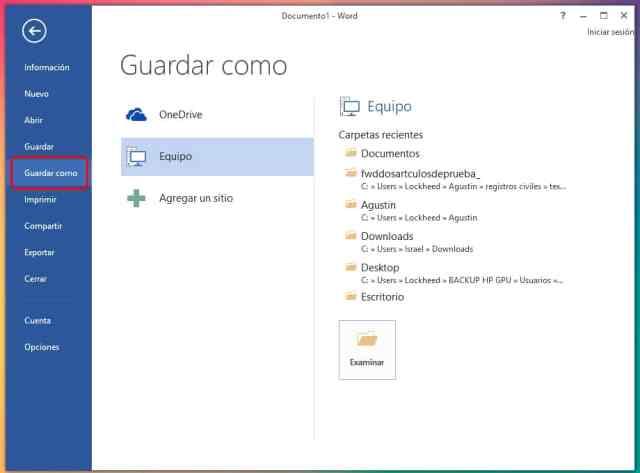 Cómo crear un documento PDF en Windows 10