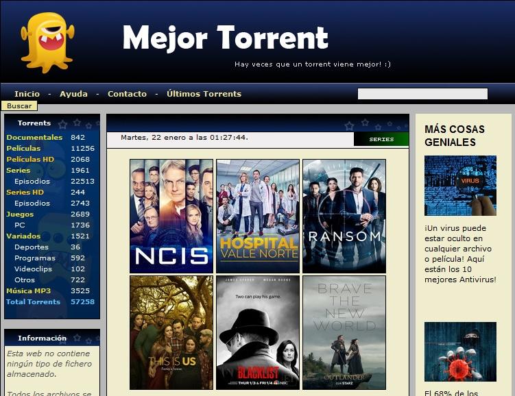 Mejores páginas para descargar películas de uTorrent (2019)