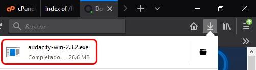 Cómo instalar Audacity en Windows 10