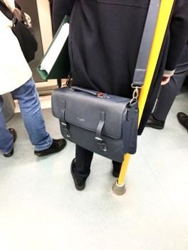 Metro Madrid - LÍNEA 4 - Bolso bandolera de TED BAKER LONDON!!!