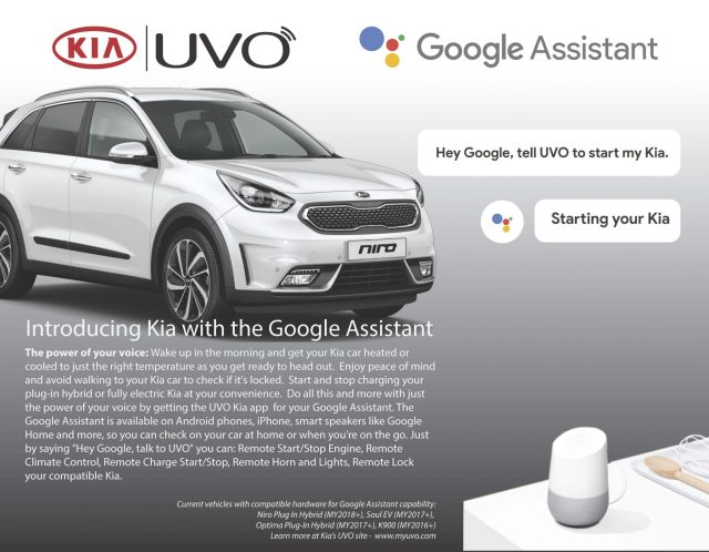 google assistant for your car
