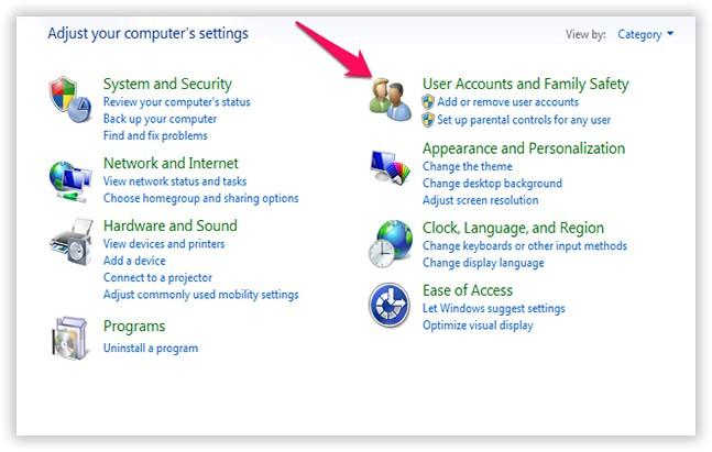 Set Parental Controls on Windows 10