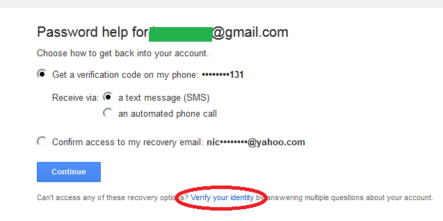Gmail Recovery and Password Reset